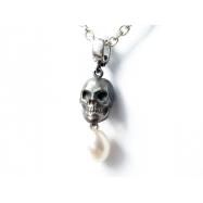 Hamlet perlen briolette inkl. klappösel argentum 925 black
