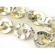 Sushichain broad geldgoldglieder bracelet